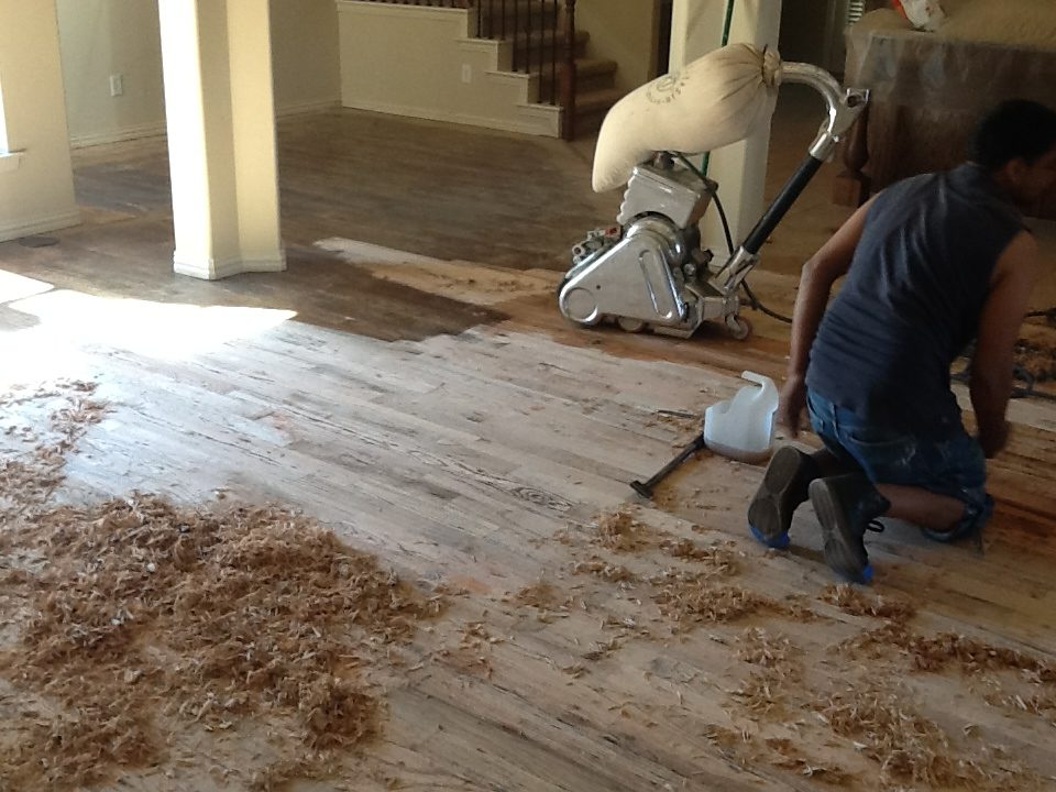 DFW Custom Wood Floors - Refinishing Wood Floors