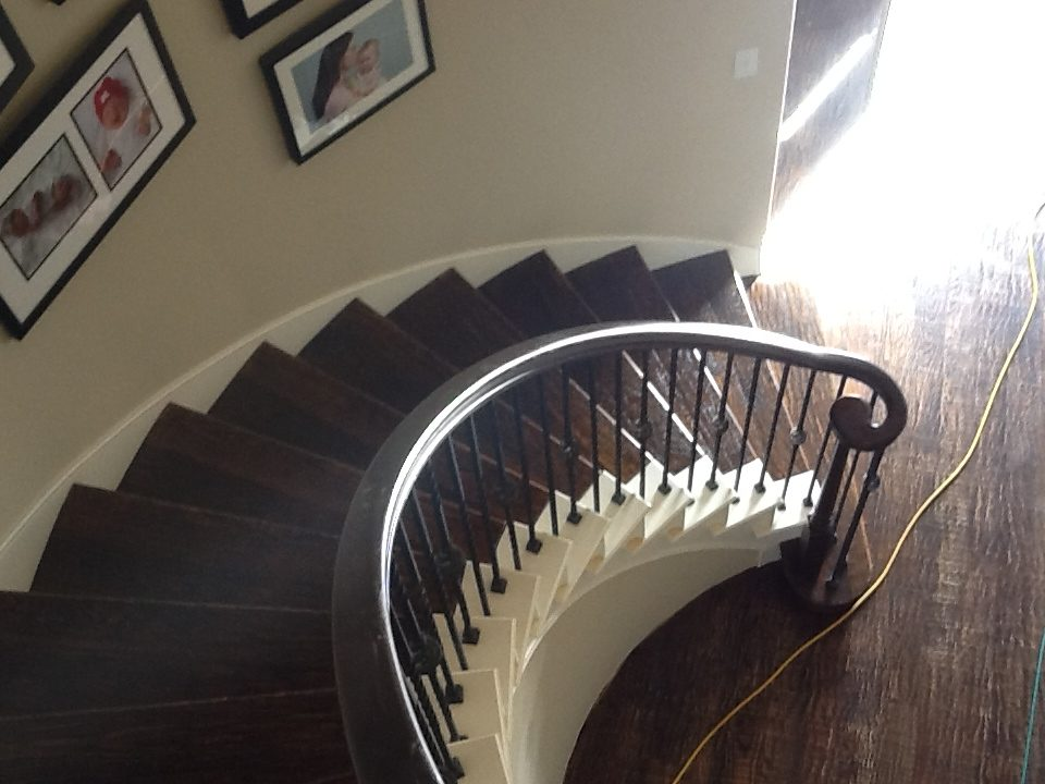 DFW Custom Wood Floors - Stairs