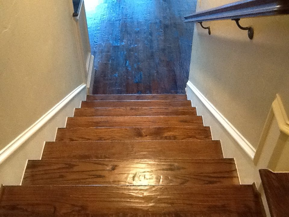 DFW Custom Wood Floors - Stairs